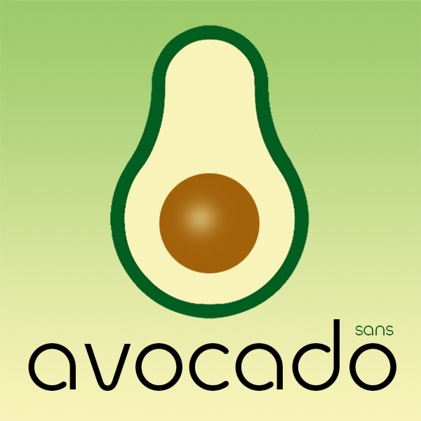 Avocado Sans typeface by ArtyType