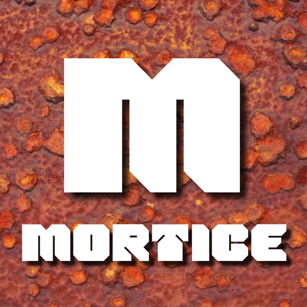 Mortice display font from ArtyType