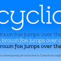 Cyclic-Uncial-3-weights-Banner