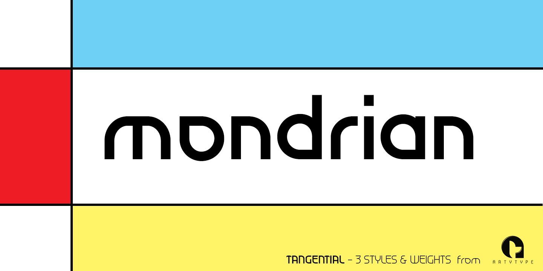 Mondrian Banner 1