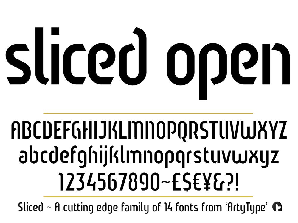Sliced-open
