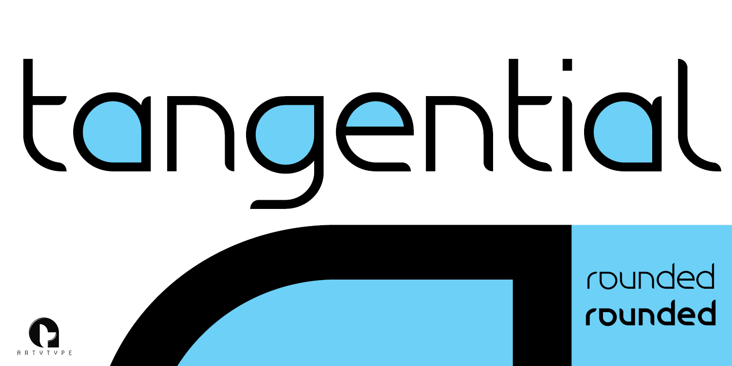 Tangential Rounded Banner 1b