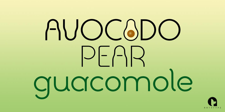 Avocado Sans banner 1d