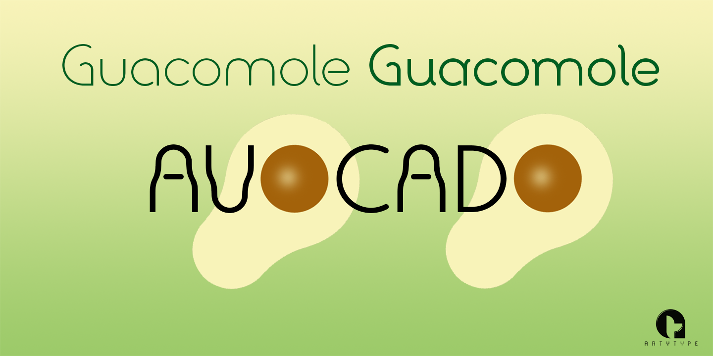 Avocado Sans banner 2b