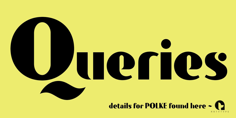 Polke banner 11