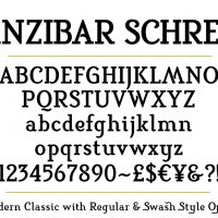 Sanzibar-Schreef-set-Bold