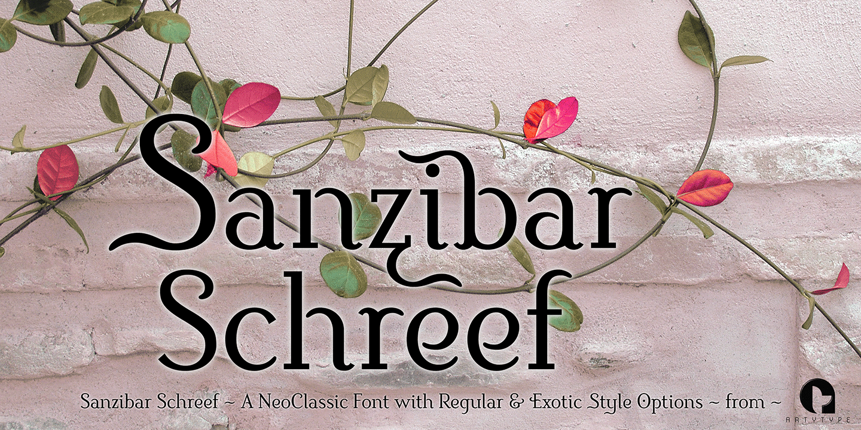 Sanzibar-Schreef-vine