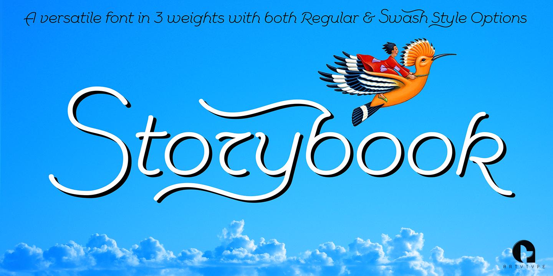 Storybook Banner Med